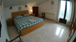 1 bedroom, bed sheets, wheelchair access