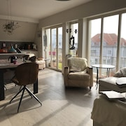 Large Luxurious and South-facing Apartement - 50 m From the Beach of De Haan