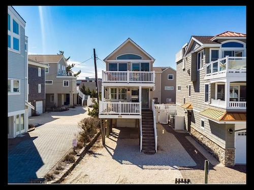 One off the Beach House With Ocean Views in the Heart of Surf City!