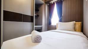 2 개의 침실, 무료 WiFi, 리넨