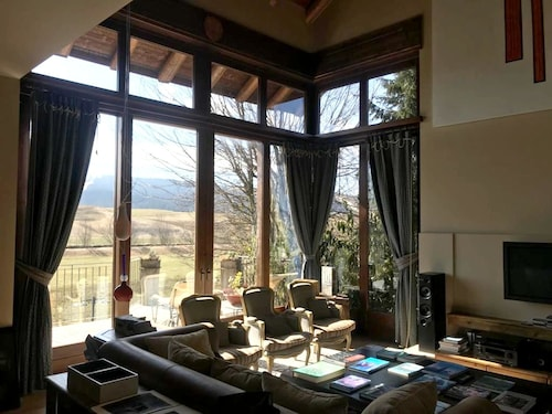 House With 2 Bedrooms in Asiago, With Wonderful Mountain View, Enclosed Garden and Wifi - 12 km From the Slopes