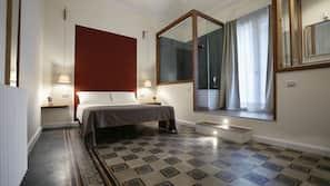 1 bedroom, Frette Italian sheets, premium bedding, down comforters