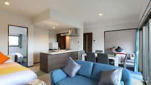 2 間臥室、書桌、熨斗/熨衫板、免費 Wi-Fi