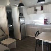 NEW Mobil Home, 40 m2, IN Camping 4 THE Carabasse IN Vias