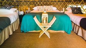 1 bedroom, premium bedding, iron/ironing board