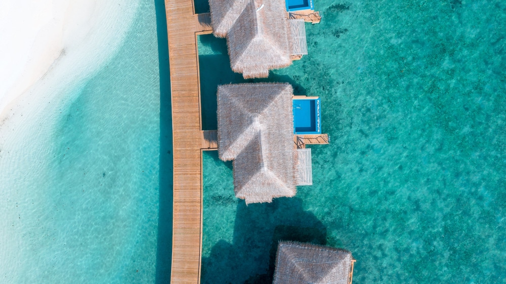 Aerial View, You & Me Maldives