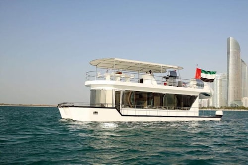Yacht The Houseboat Mermaid/ Burj Khalifa View