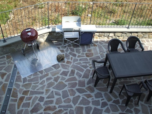 Apartment With 2 Bedrooms in Orturano, With Wonderful Mountain View, Enclosed Garden and Wifi - 25 km From the Slopes