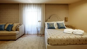 Individually decorated, free cots/infant beds, free WiFi, linens