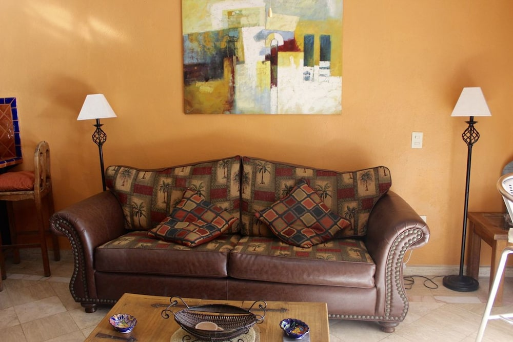 Living Area, Marina Pinacate 1BR 411-v by Casago