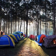 Camping on Olkhon