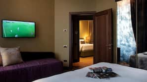 In-room safe, blackout drapes, free cribs/infant beds, free WiFi