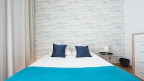 1 bedroom, travel crib, free WiFi