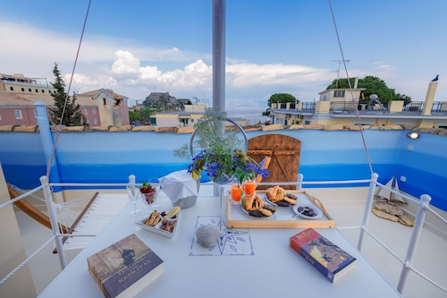 Gregos Rooftop Suite Sea View & Parking