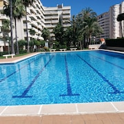 Apartment With 3 Bedrooms in Grau i Platja, With Wonderful City View, Shared Pool, Enclosed Garden - 200 m From the Beach
