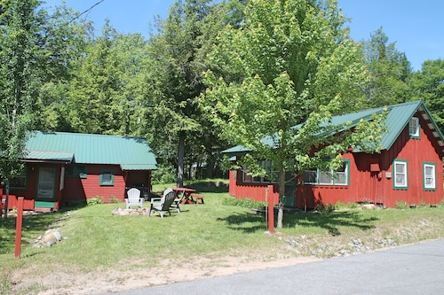 Limekiln Lake-- Beautiful Lake View, Adirondack Cabin for Rent