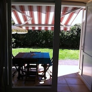 Studio in Vieux-boucau-les-bains, With Pool Access and Enclosed Garden - 1 km From the Beach