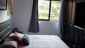 Ropa de cama hipoalergénica y cortinas opacas