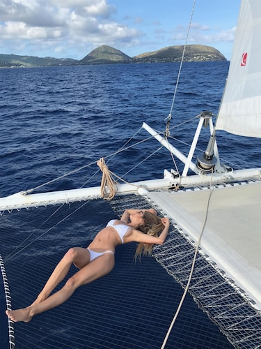 Dock Yachting in Paradise