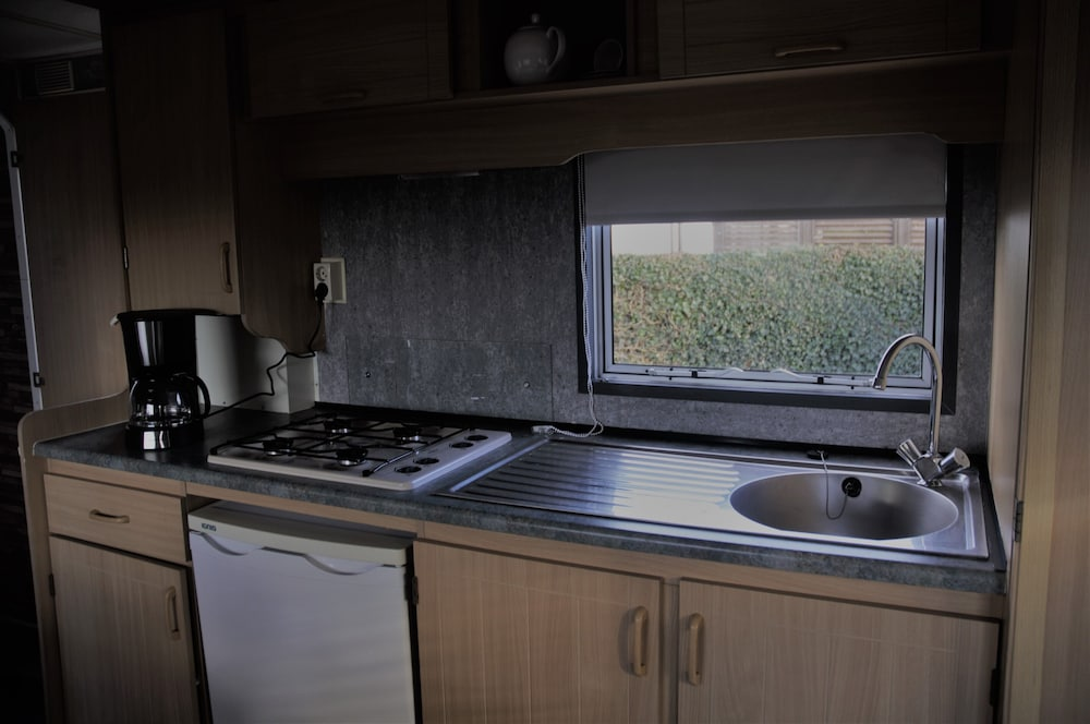 Private Kitchen, 2 to 3 Person Furnished Mobile Home
