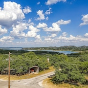 Lake View Home w/ Game Room & Multiple Balconies Overlooking Canyon Lake!