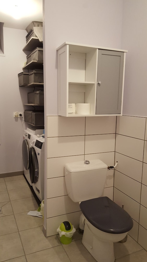 Bathroom, Very Nice new Apartment on the Ground Floor With Terrace, Tastefully Decorated