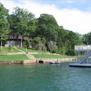 Lakefront Rental on Lake Chatuge Deep-water