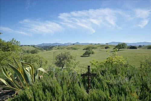 Property Grounds, Los Olivos Dream Farmhouse