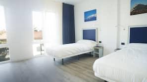 Daunenbettdecken, Verdunkelungsvorhänge, schallisolierte Zimmer