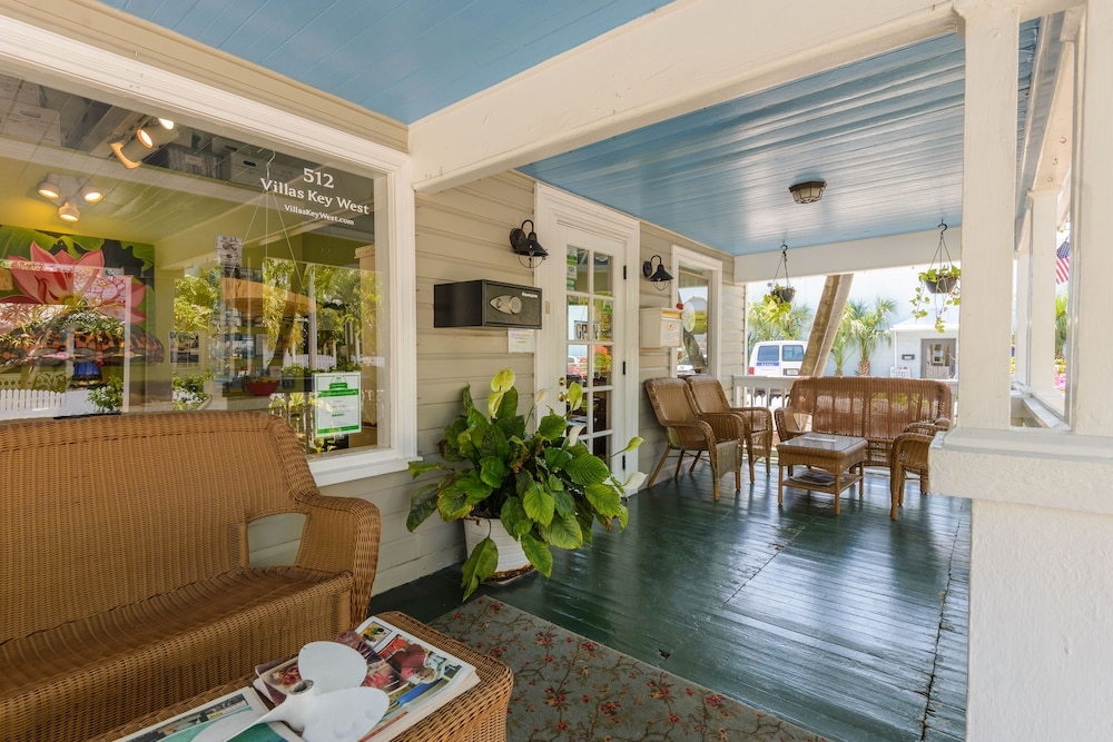 Check-in/Check-out Kiosk, Key West Villas