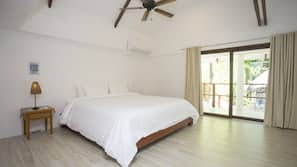 5 bedrooms, in-room safe, iron/ironing board, free WiFi