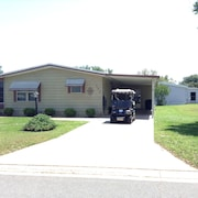 Beautifully Decorated 2 Bdrm Home W/golf Cart, BBQ & Wifi Included!
