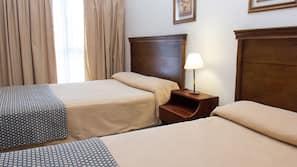 Ropa de cama de alta calidad, wifi gratis, ropa de cama
