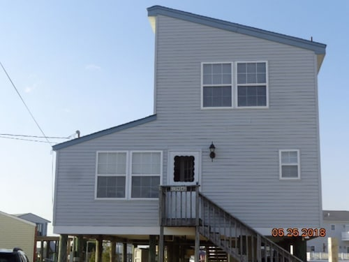 Waterfront Tuckerton Beach Home With Dock Looking out to LBI