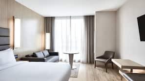 2 bedrooms, hypo-allergenic bedding, down comforters, in-room safe