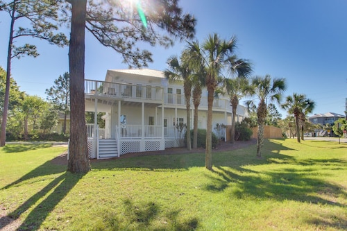 NEW Listing! Beautiful Home w/ Private Pool & Furnished Deck - Walk to the Beach