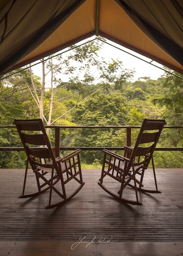 Rainforest Glamping. Where luxury meets adventure.