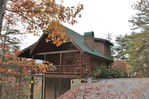 Dollywood/pigeon Forge Cabin, 1.5 Miles From Parkway, Mtn View