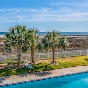 NEW Listing! Gulf-front Condo w/ Shared Pools & Direct Beach Access!