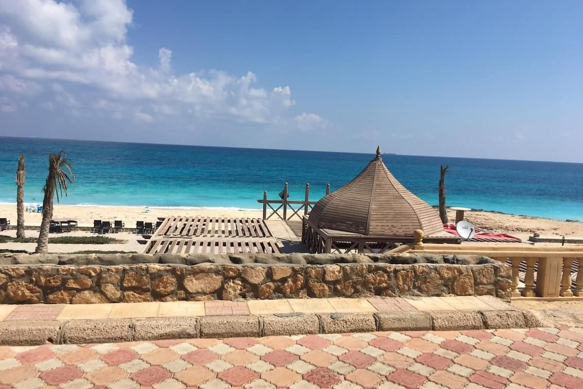 Chalet 90 Sq M With One Bed Room And Reception First Raw Sea View Ad Dab Ah Egitto Expedia It