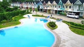 5 개의 야외 수영장