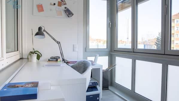1 bedroom, iron/ironing board, WiFi, linens