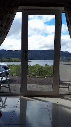 Stunning views of Lough Melvin from this lovely house.   Leitrim/Donegal