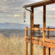 Watch the big Game From the top of Sunrock Mountain in Blue Ridge!