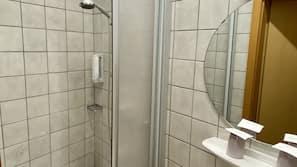 Shower, towels