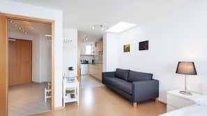 2 makuuhuonetta, silitysrauta/-lauta, internet, vuodevaatteet