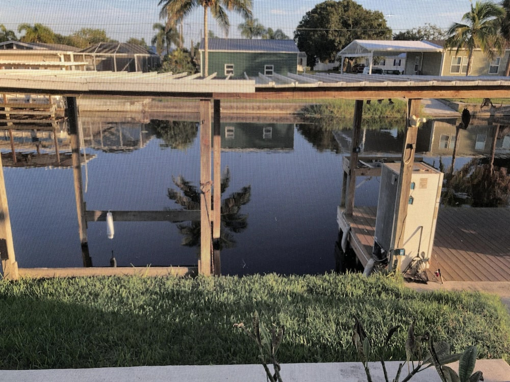 , Waterfront, Inground Pool, Covered Boat Dock, Fenced 3/2 Home