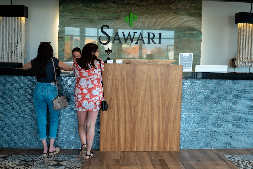 Property Entrance, Sawari Hotel