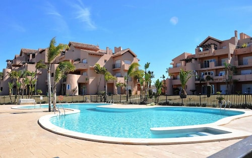 Apartment With 3 Bedrooms in Torre-pacheco, With Pool Access, Enclosed Garden and Wifi - 7 km From the Beach