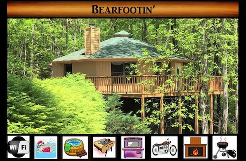 'bearfootin' - Pool Access / Wifi / Foosball / Arcade / Hot Tub / Jacuzzi Tub